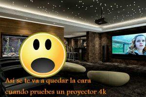 proyector 4k asombro