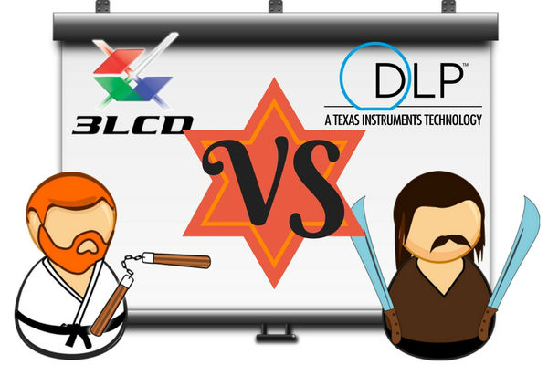 proyector dlp vs lcd
