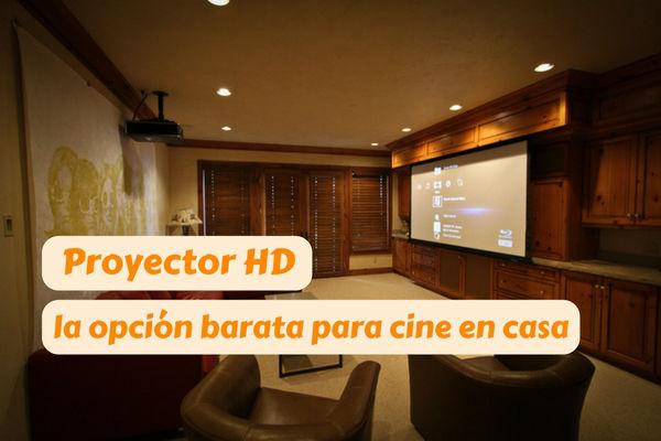 proyector hd barato cine casa