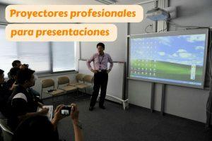 proyector para presentaciones oficina clase
