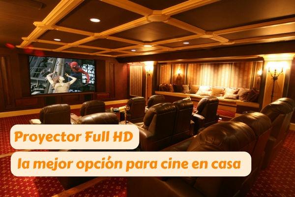 proyector full hd cine en casa