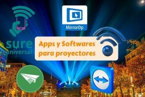 apps y software para proyectores