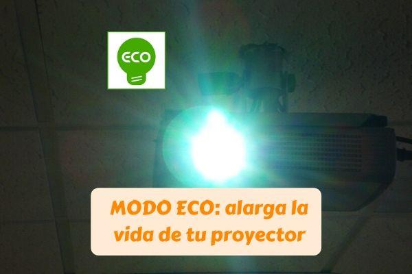 modo eco proyector