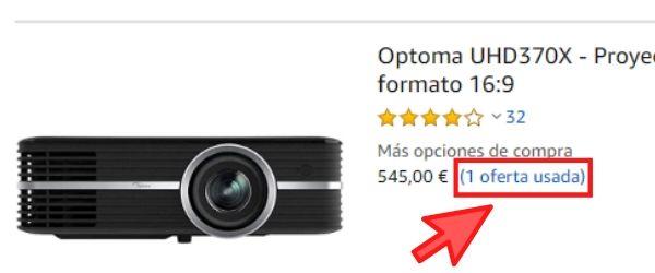 proyector 4k usado