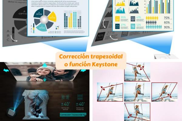 correción trapezoidal función keystone