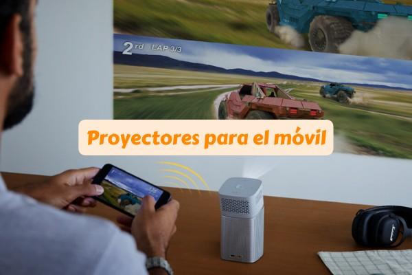 proyector para móvil smartphone