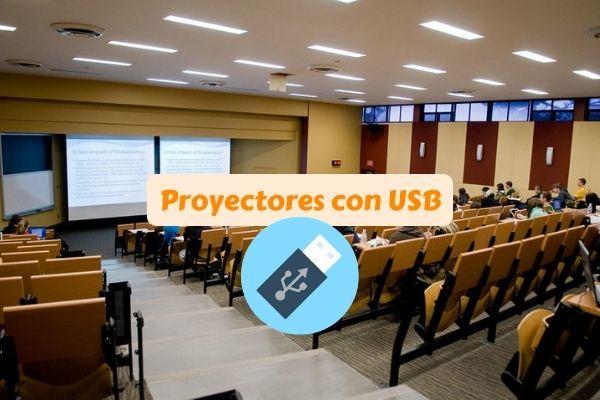 proyectores con entrada usb