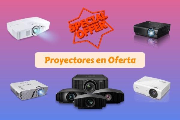 ofertas y descuentos de proyectores
